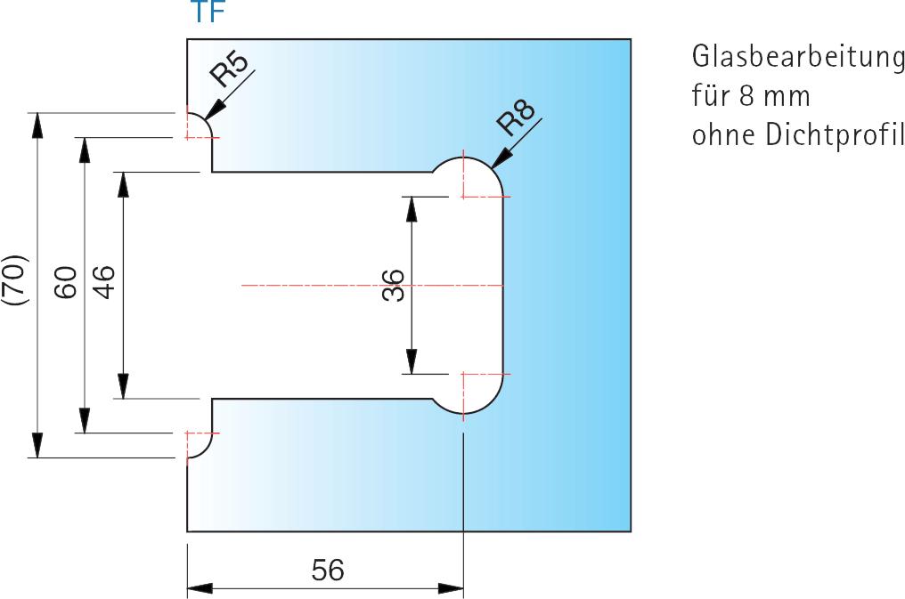 8134 flamea glas wand beschlag 90 glastechnik berlin. Black Bedroom Furniture Sets. Home Design Ideas