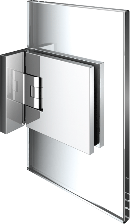 8134 Flamea+ Glass/Wall hinge 90°