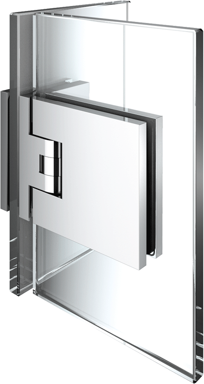 8136 Flamea+ Glass/Glass hinge 90°