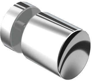 8502 Glass door knob one-sided
